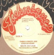 Marvin Brooks - Cheer Up Blackman / dub (Techniques) 12""